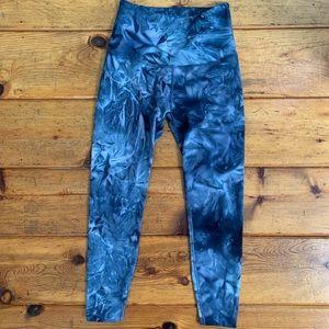 Beyond Yoga Tie Dye Indigo Pants Leggings XS